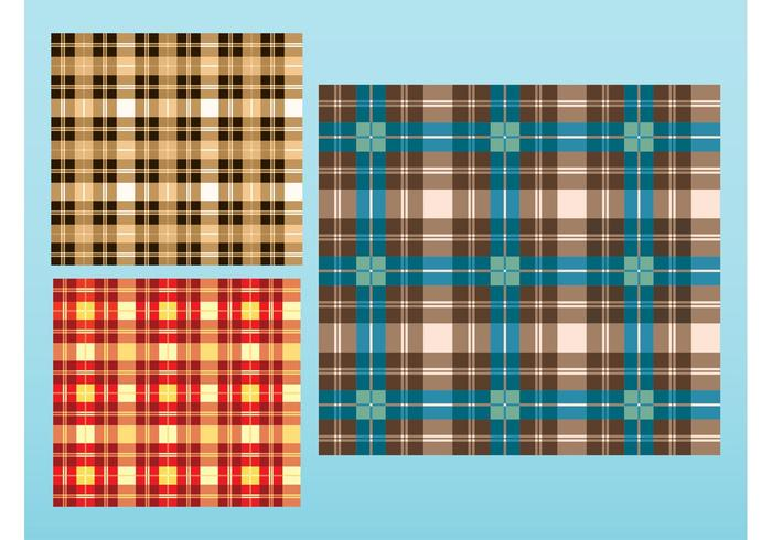 Checkered Patterns Vector