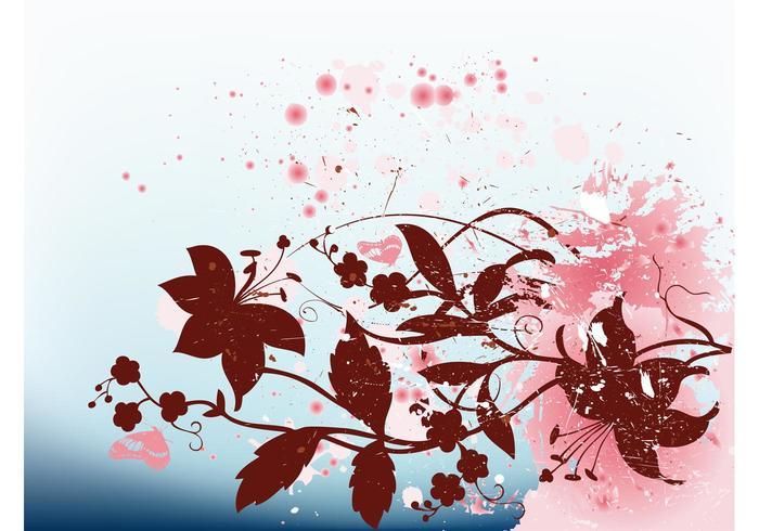 Floral Splatter