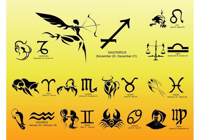 Zodiac Vectors