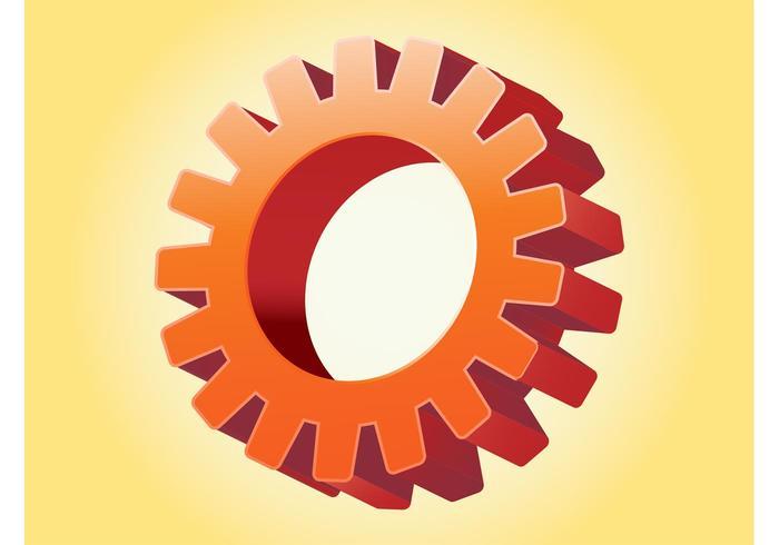Shiny Gear Wheel