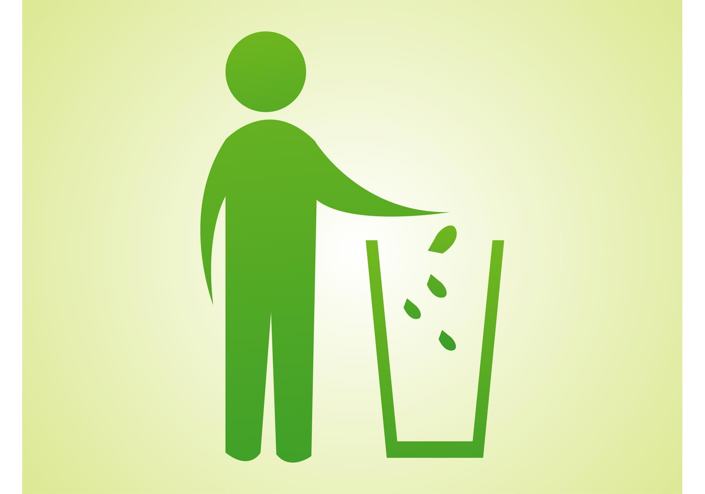 Trash Can Icon - Download Free Vector Art, Stock Graphics ...