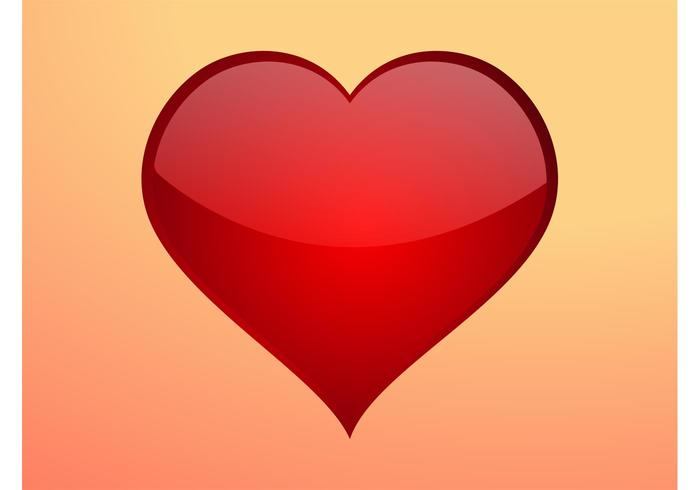 Shiny Heart Icon Download Gratis Vectorkunst En Andere
