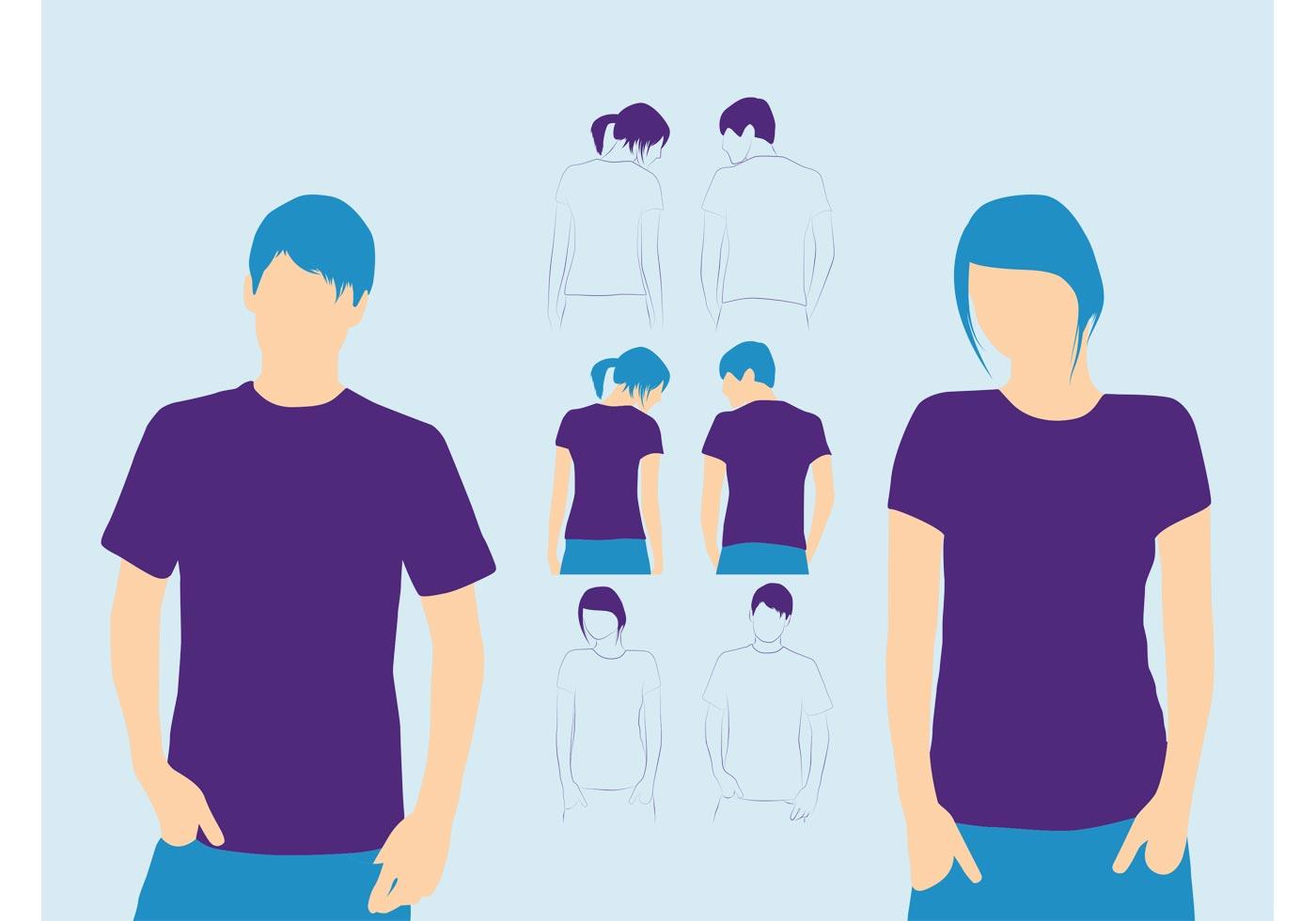 tshirts models download free vector art stock graphics