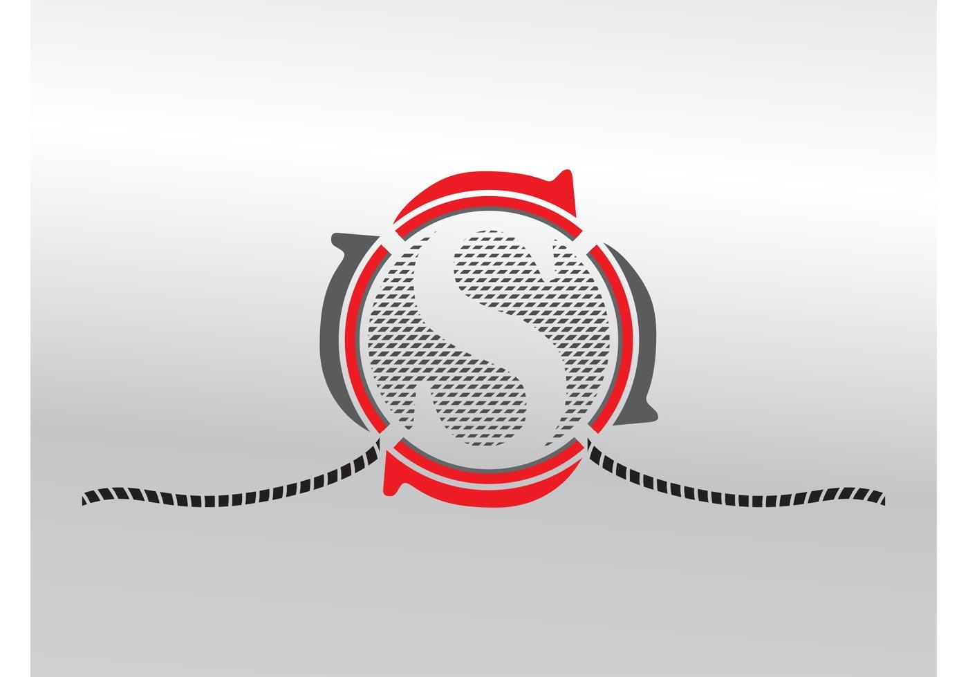 Letter s design download free vector art stock graphics images altavistaventures Image collections