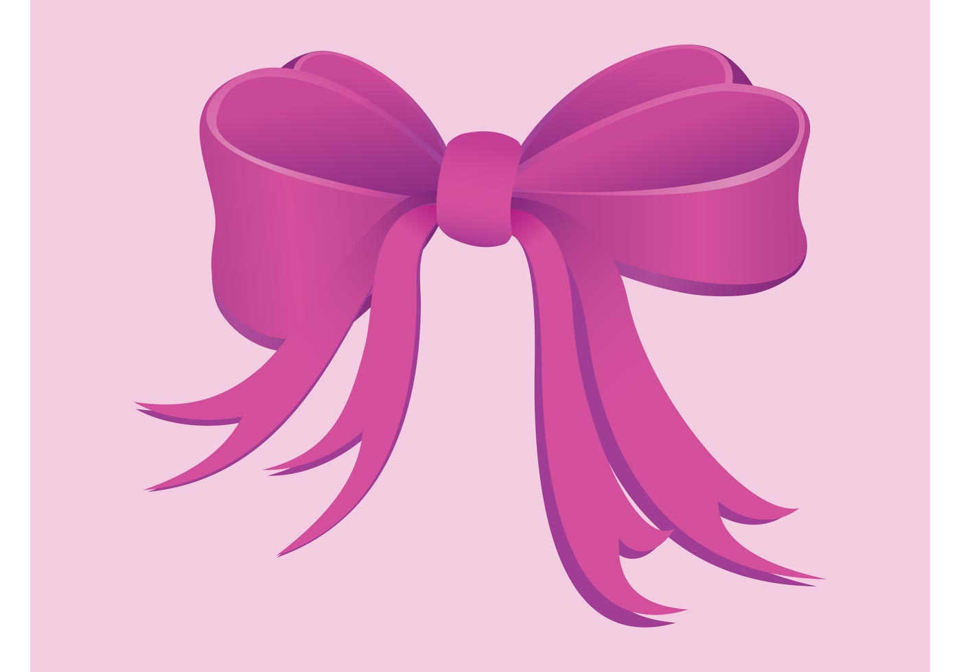 Pink Bow Download Free Vector Art Stock Graphics Amp Images