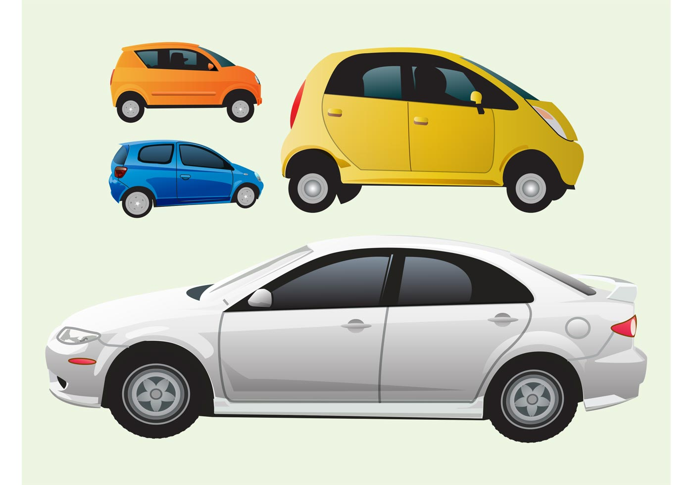 cars vector graphics   vector art stock graphics images