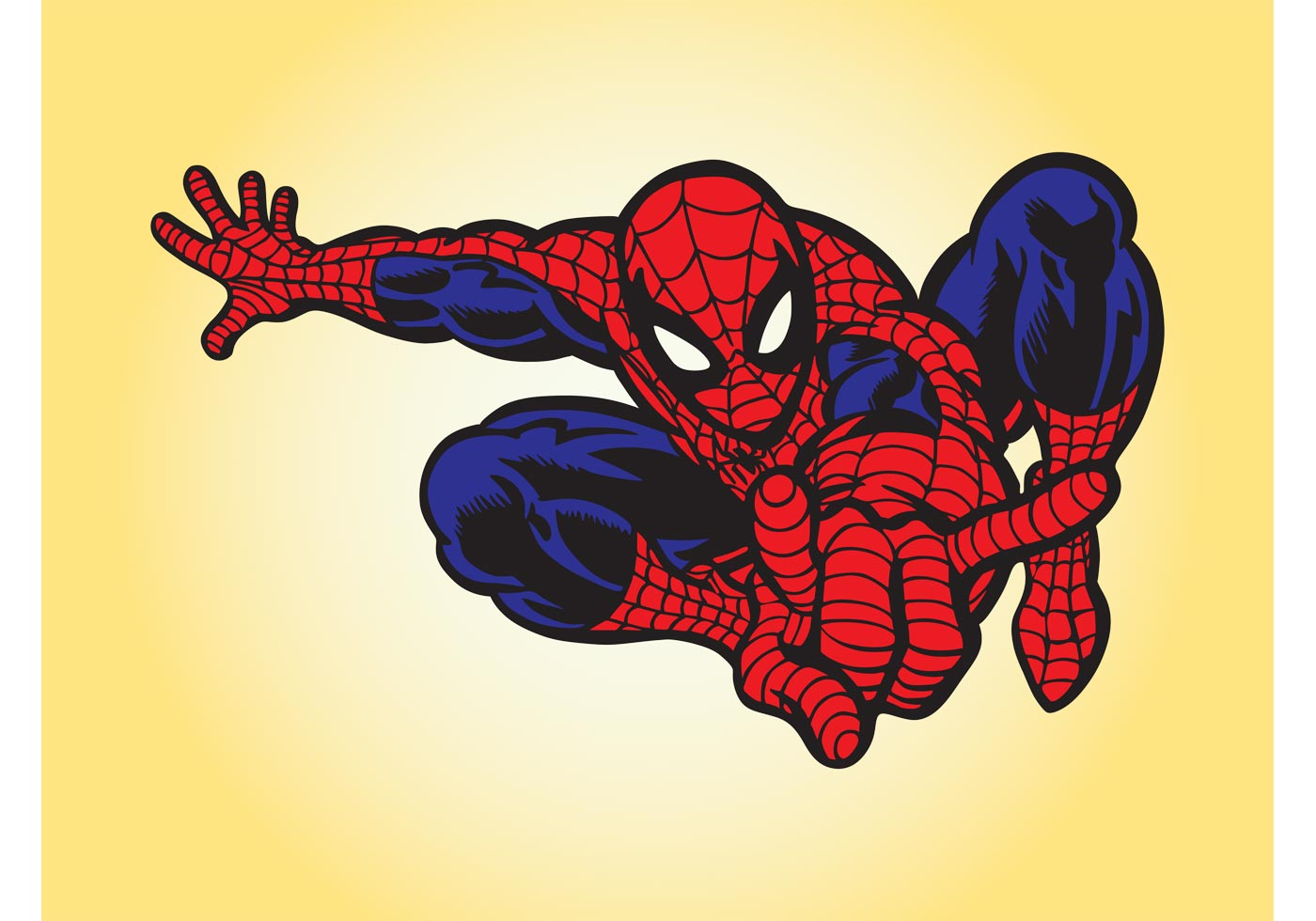 Cartoon vector illustration mega pack download free vector art spiderman vector stopboris Image collections
