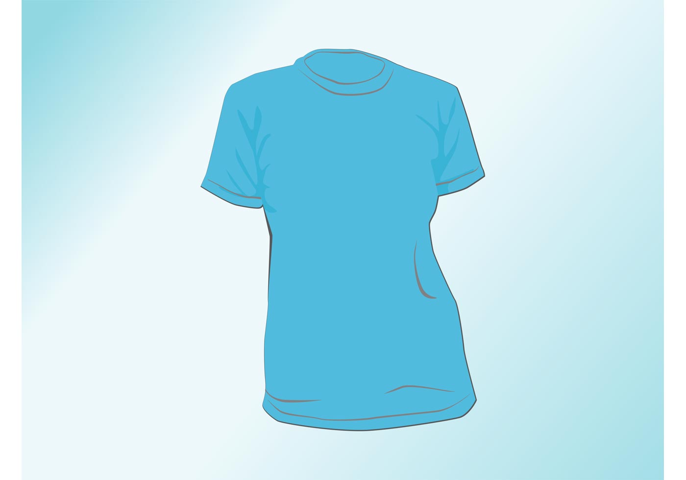 Ladies t shirt download free vector art stock graphics for Vector art for t shirts