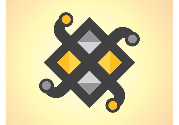 Geometric Icon Vector