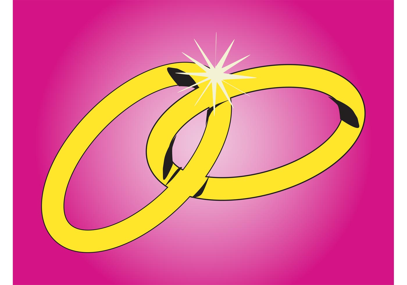 Wedding Rings Graphics - Download Free Vector Art, Stock Graphics ...
