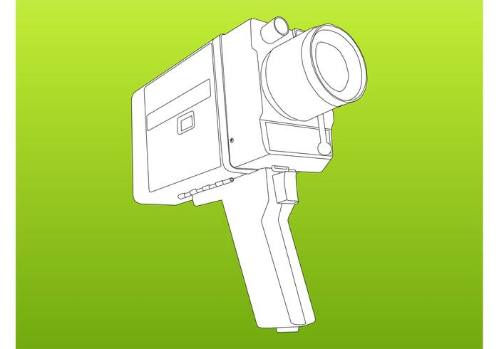 Camera Vector Graphics