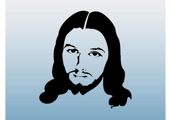 Jesus Face Graphics