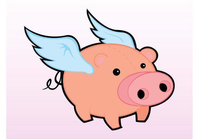 flying pig download free vector art stock graphics images rh vecteezy com flying pig clipart black and white flying pig clipart black and white