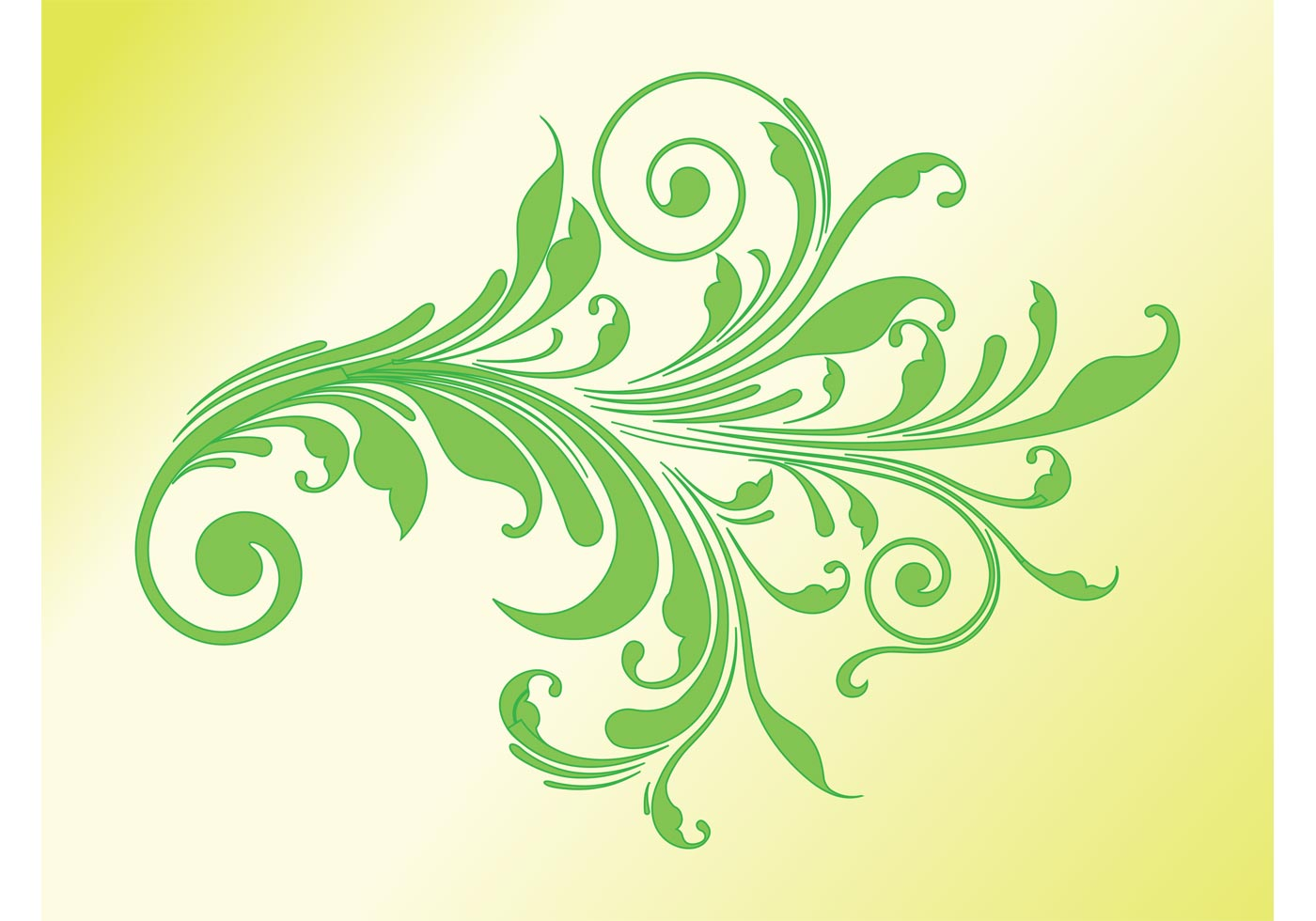 Floral Swirl - Download Free Vector Art, Stock Graphics ...
