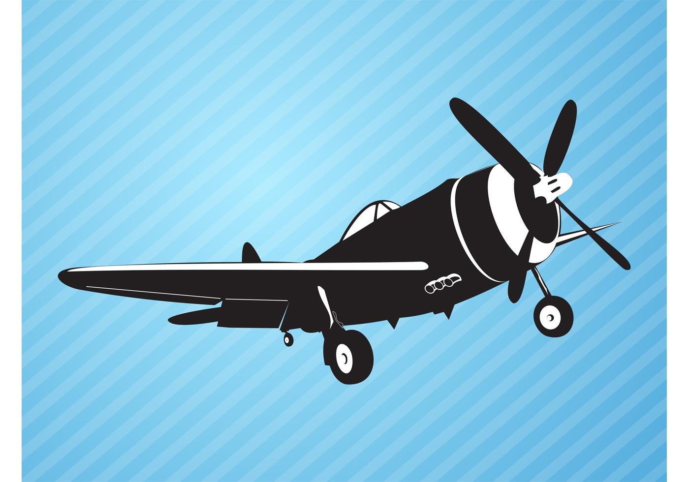 Plane Vector Download Free Vector Art Stock Graphics