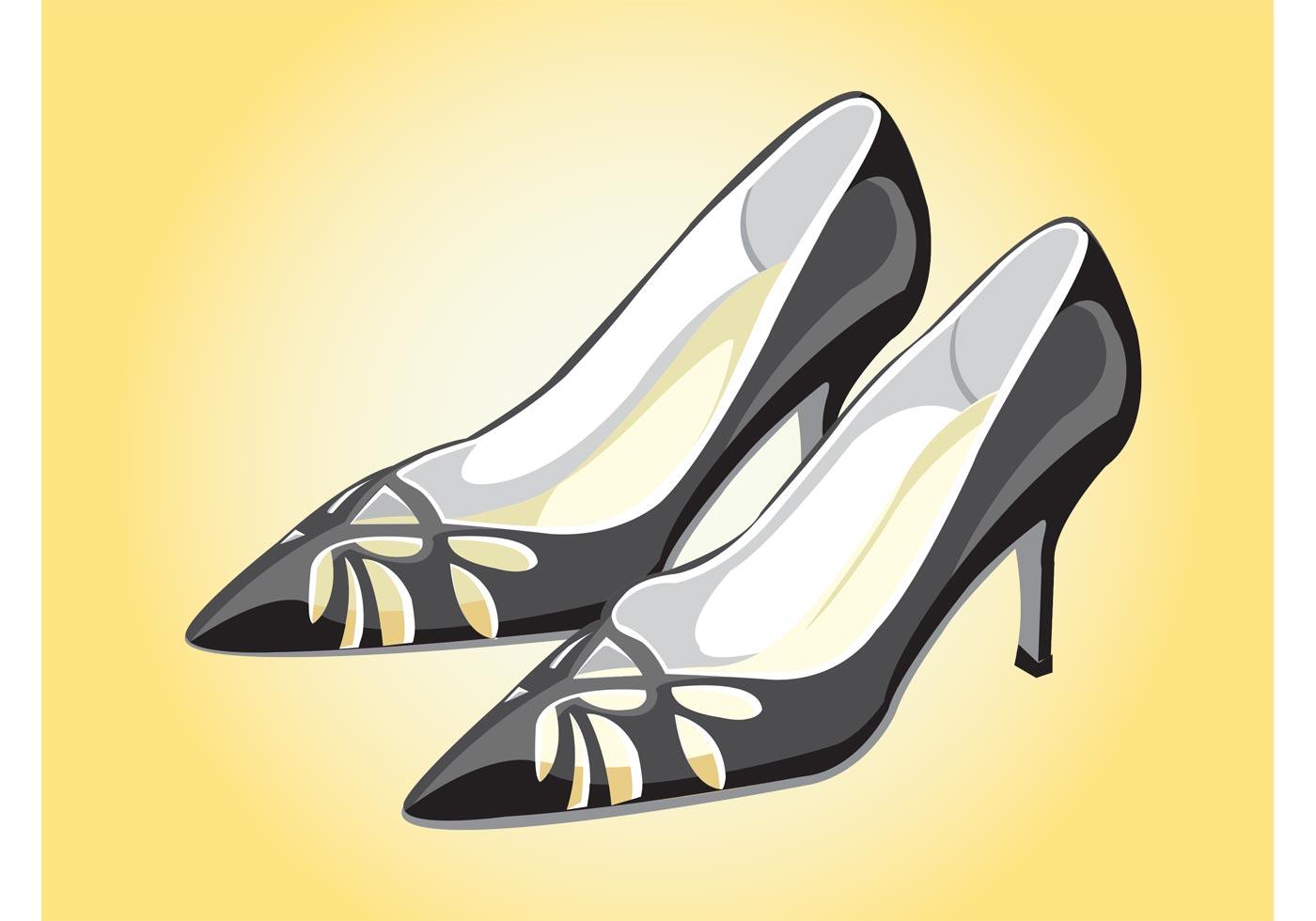 Elegant Shoes Download Free Vector Art Stock Graphics