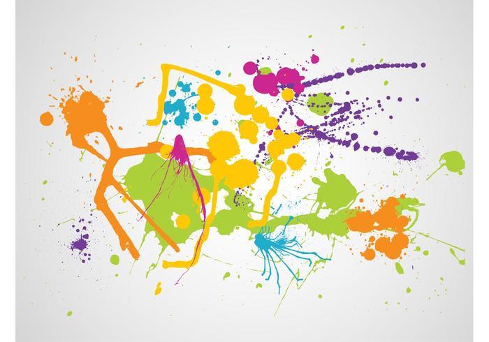 Colorful Splatter