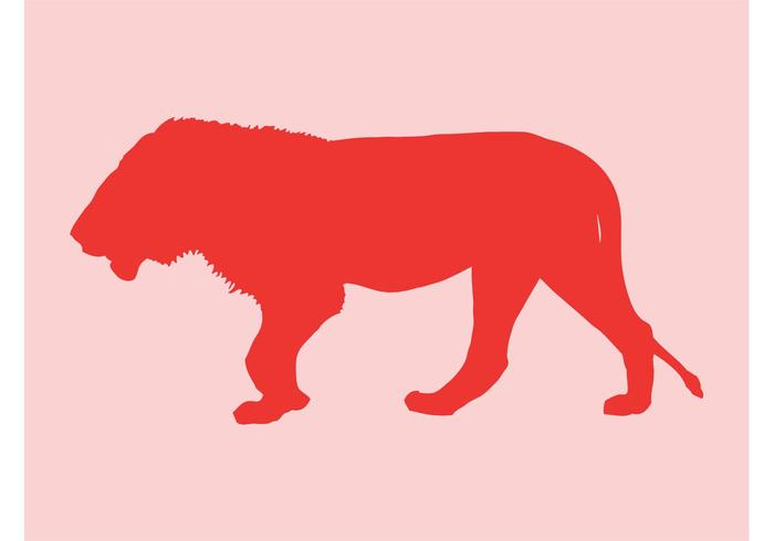 Lion Silhouette Graphics