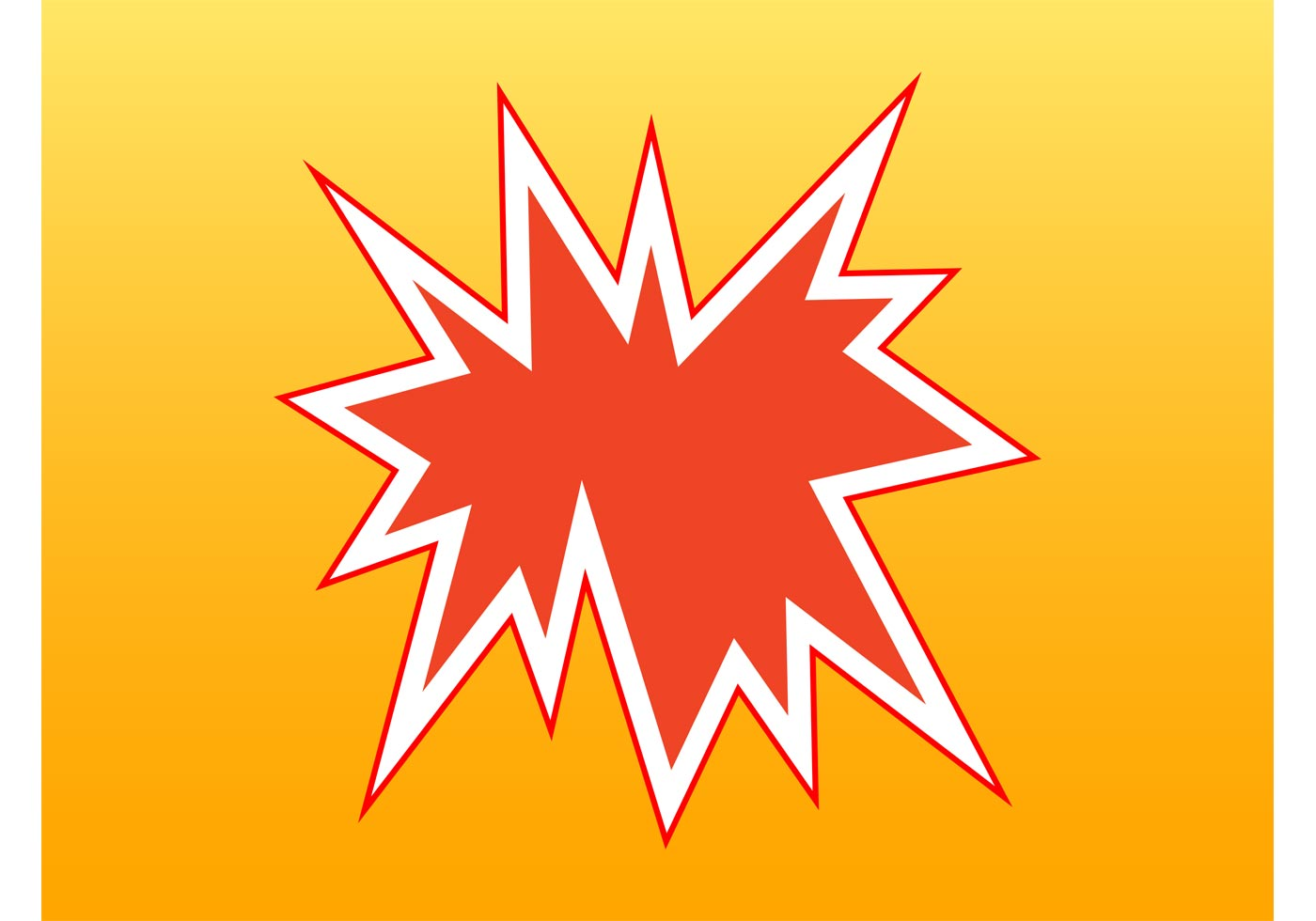 comic book explosion download free vector art stock