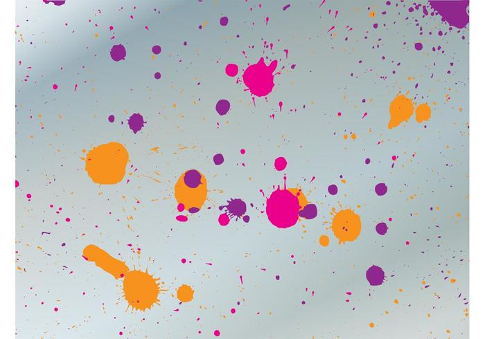 Colorful Grunge Splatter