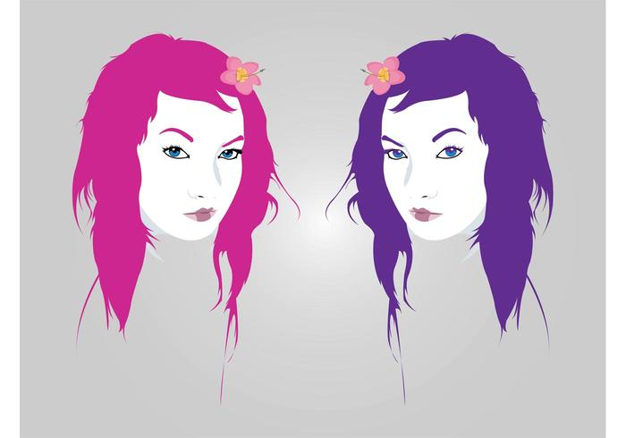 Pretty Girls Vectors