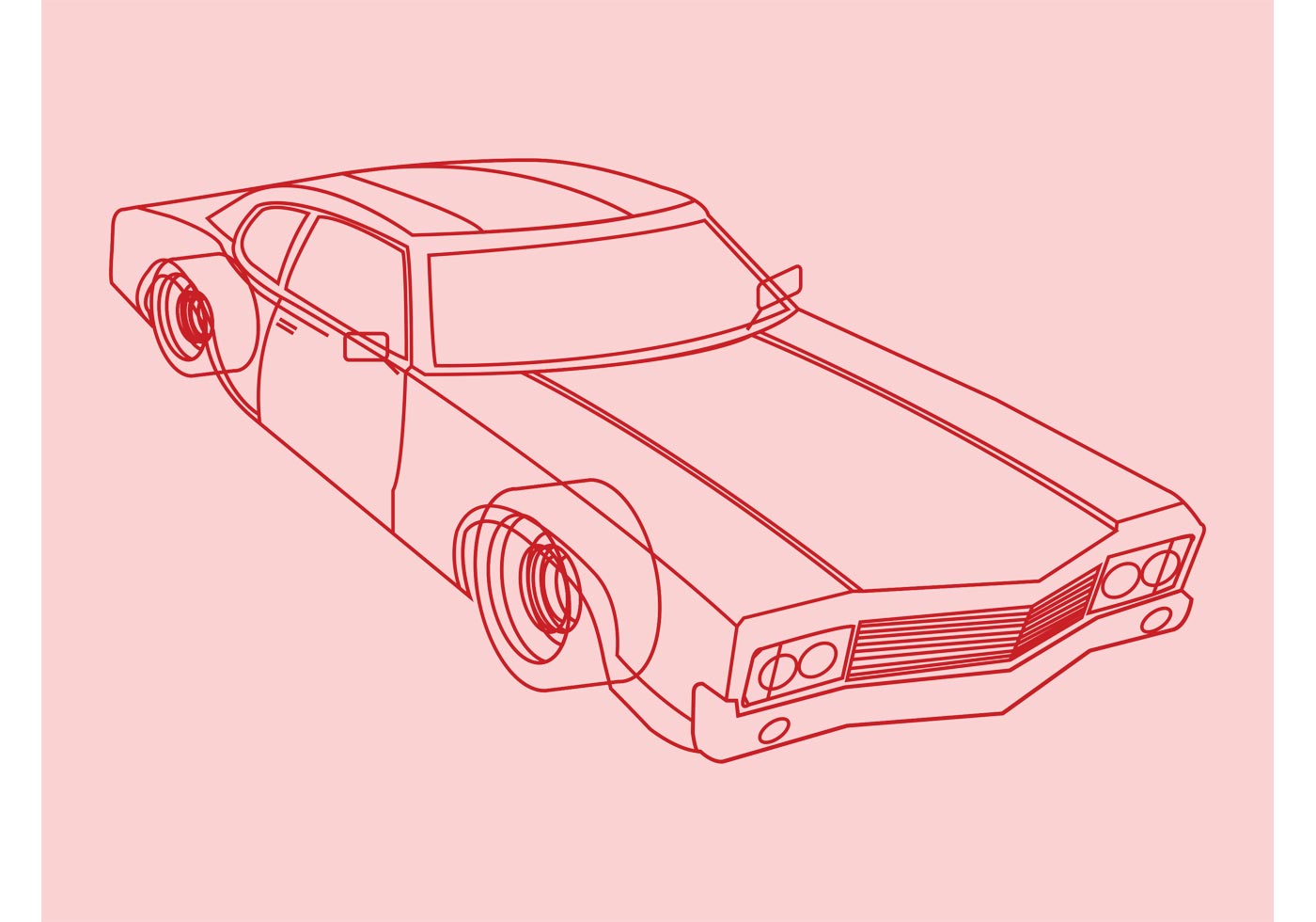 car outlines vector   vector art stock graphics images
