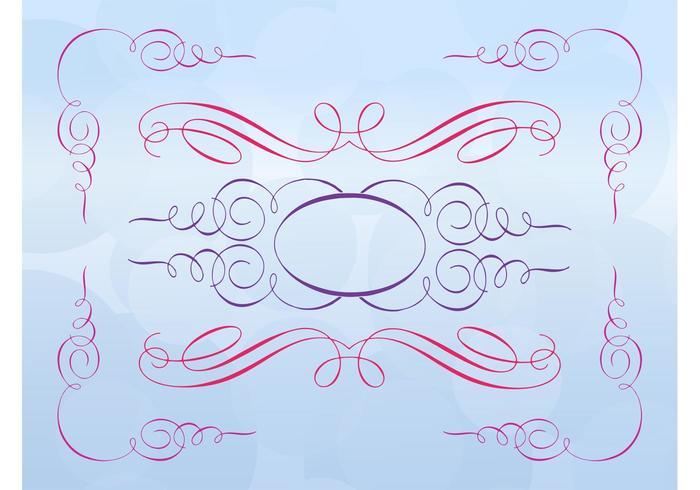 Beautiful Antique Swirls