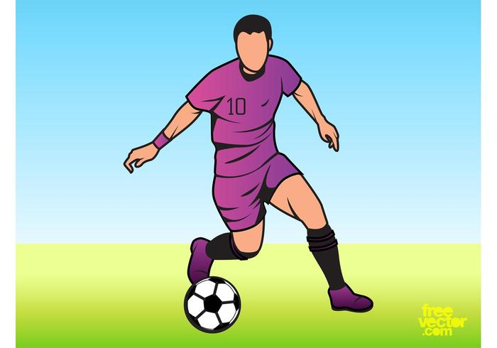 Man Playing Football