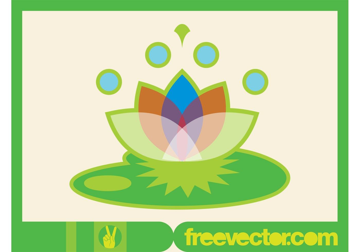 Lotus icon minimal design download free vector art for Minimal art vector