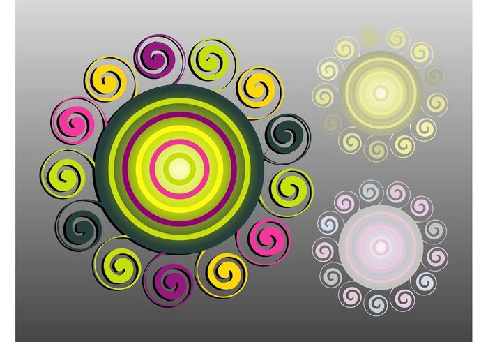 Spiraling Circles