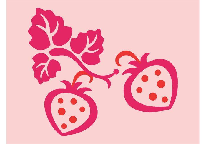 Strawberries Vectors