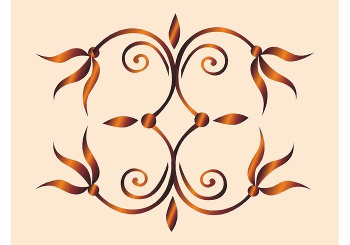 Bronze Flower