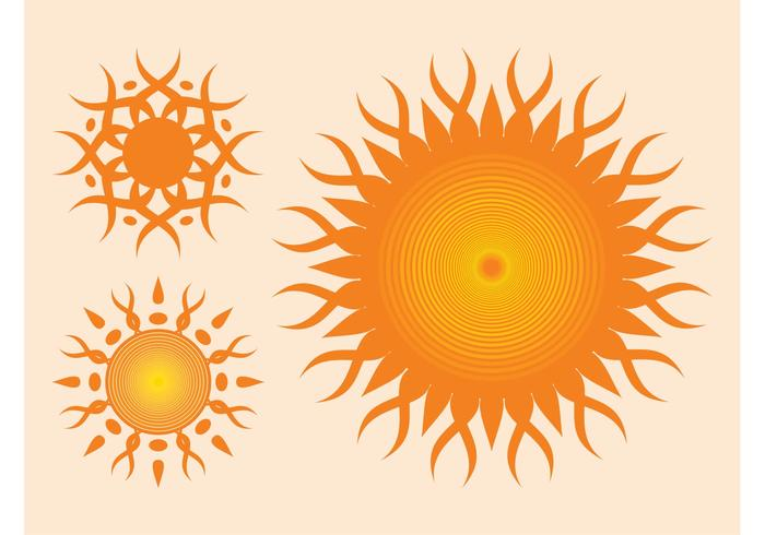 Sun Vectors Graphics