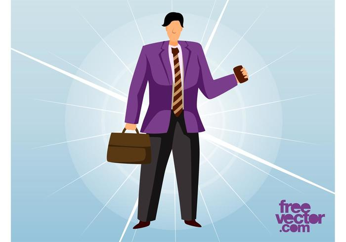 Business Man Vector