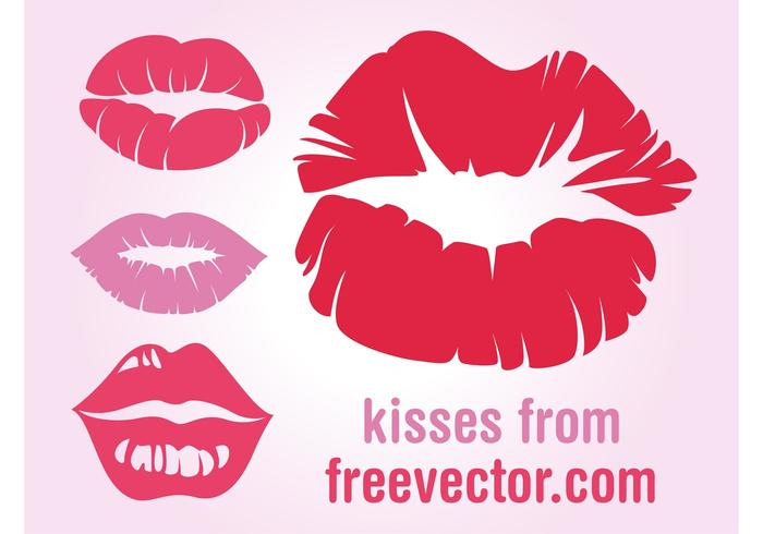 Lips Prints Vectors