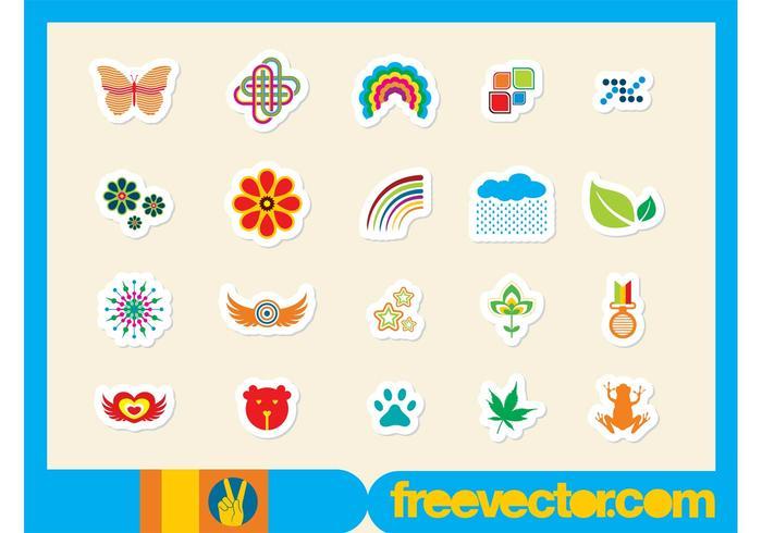 Sticker Vectors