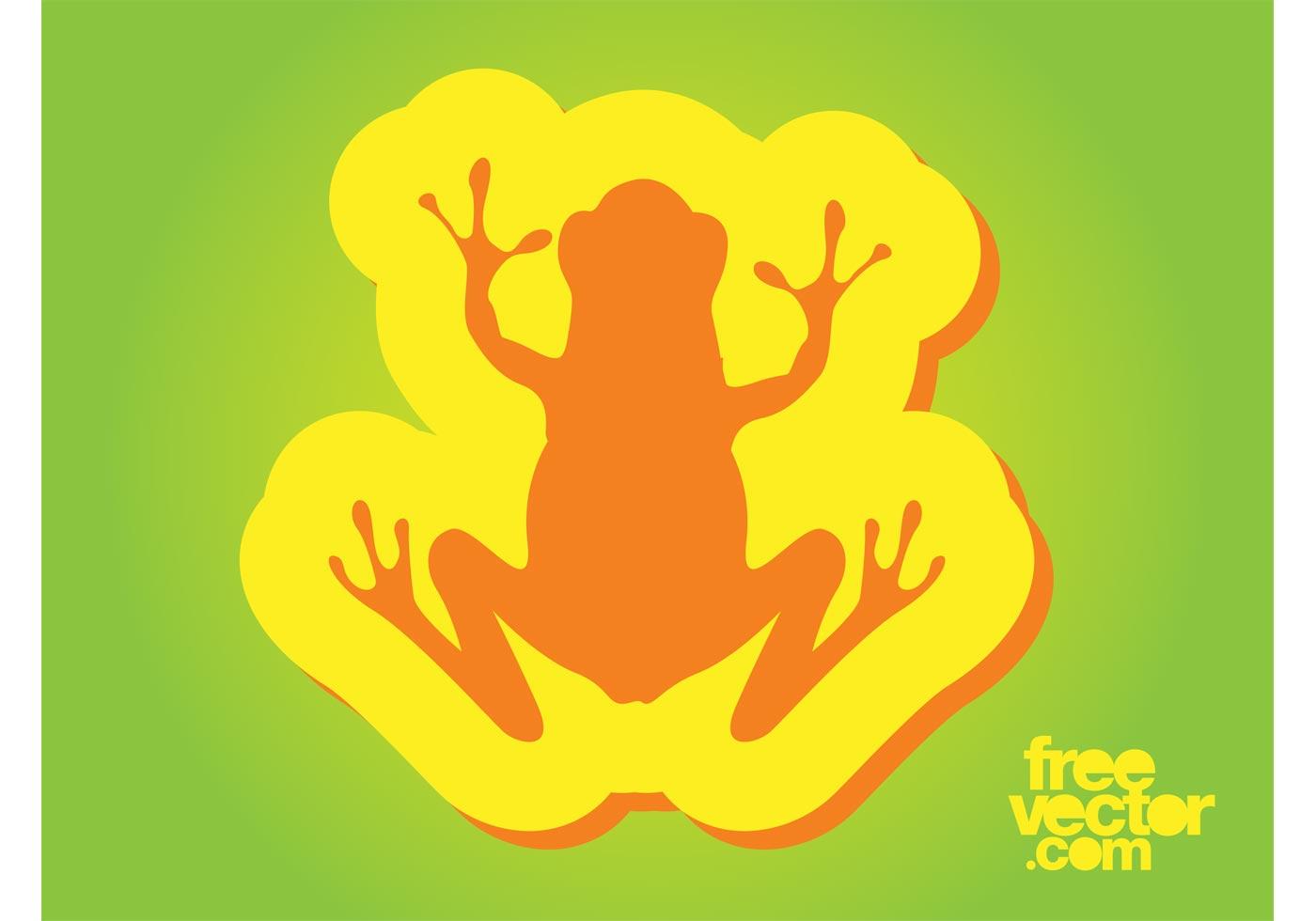 Insignia de la rana - Descargue Gráficos y Vectores Gratis