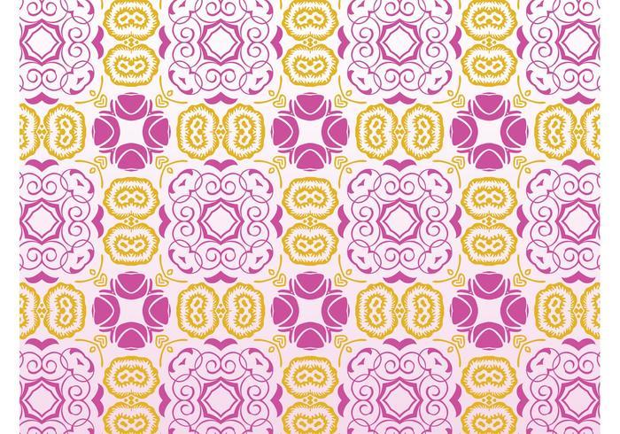 Retro Flowers Pattern