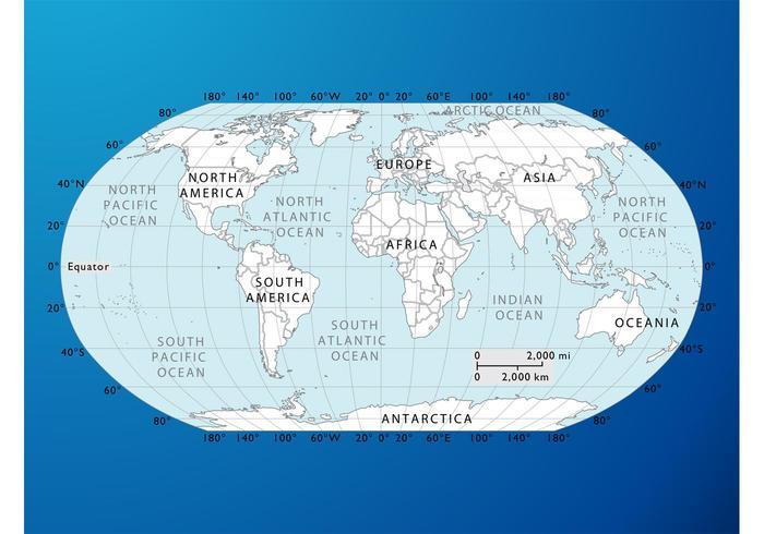 World Map Graphics