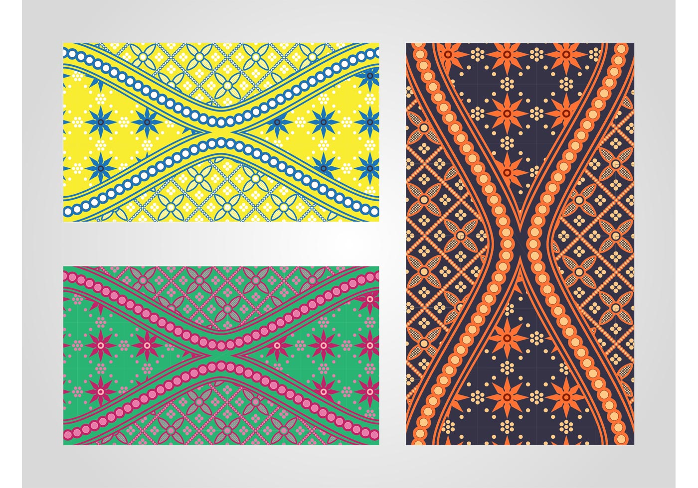 Batik Patterns Download Free Vector Art Stock Graphics