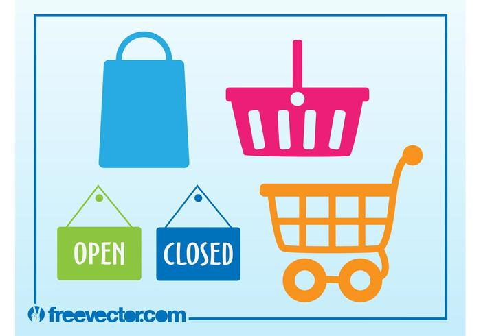 Shopping Vector Icons