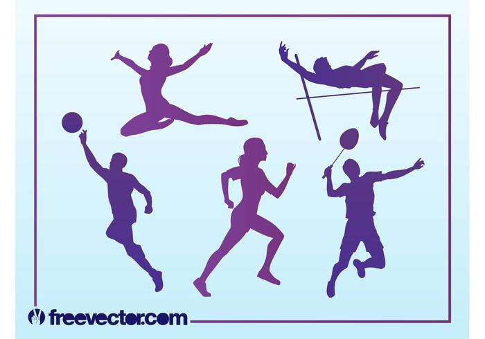 Free Sport Silhouettes