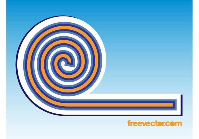 Spiral Badge Clip Art