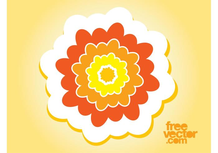 Flower Sticker Art