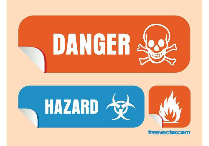 Danger Vector Graphics