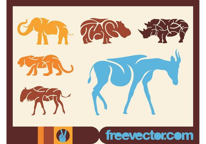 African Animals Vectors
