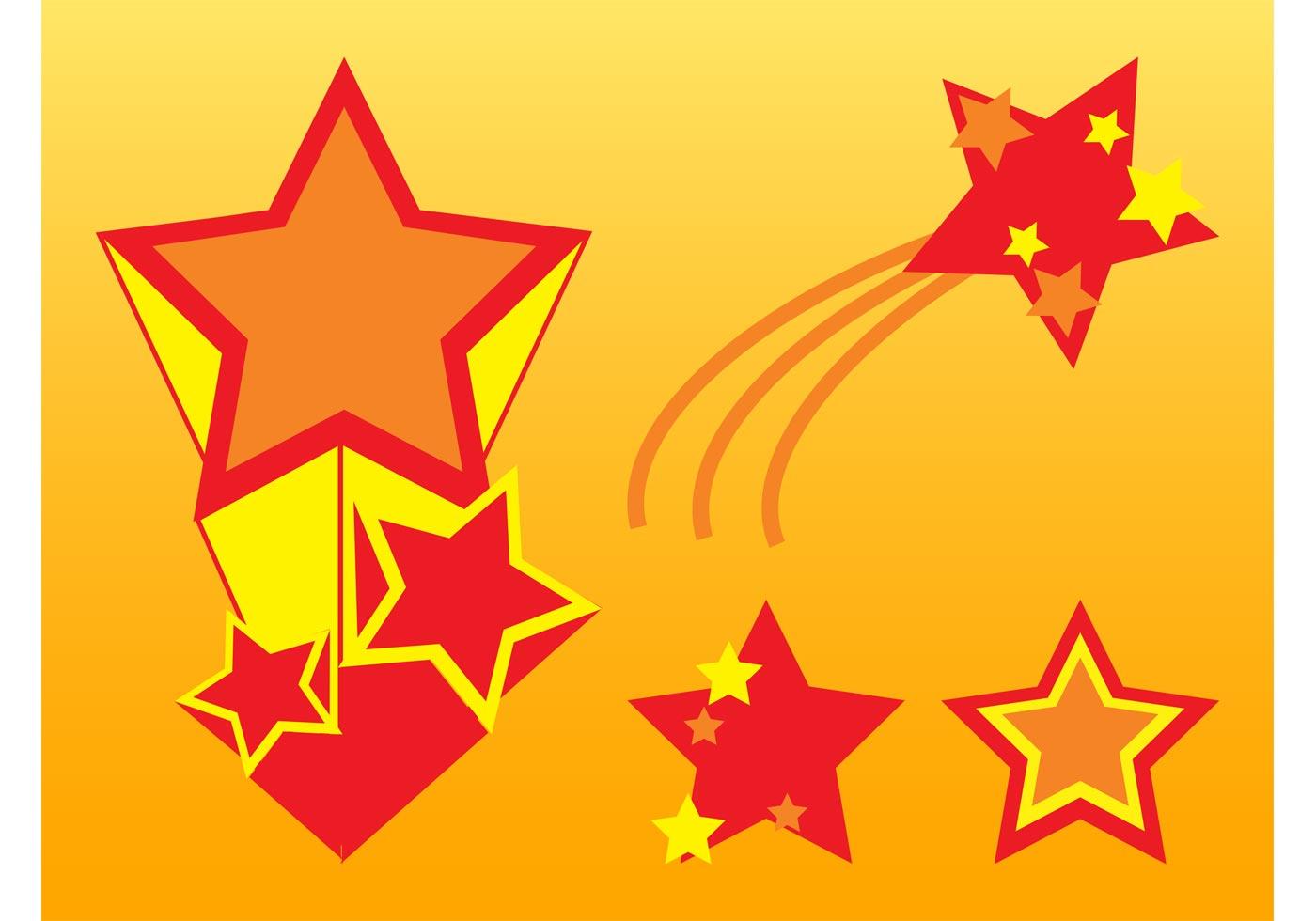 Stars Vector Graphics Download Free Vector Art Stock