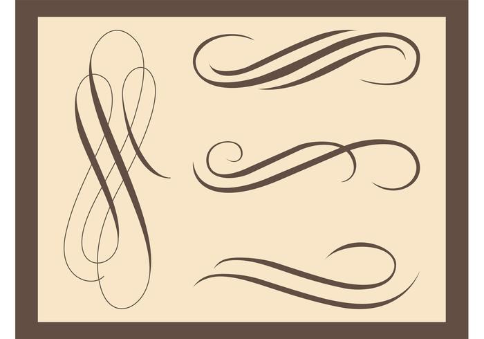 Vintage Decorative Swirls