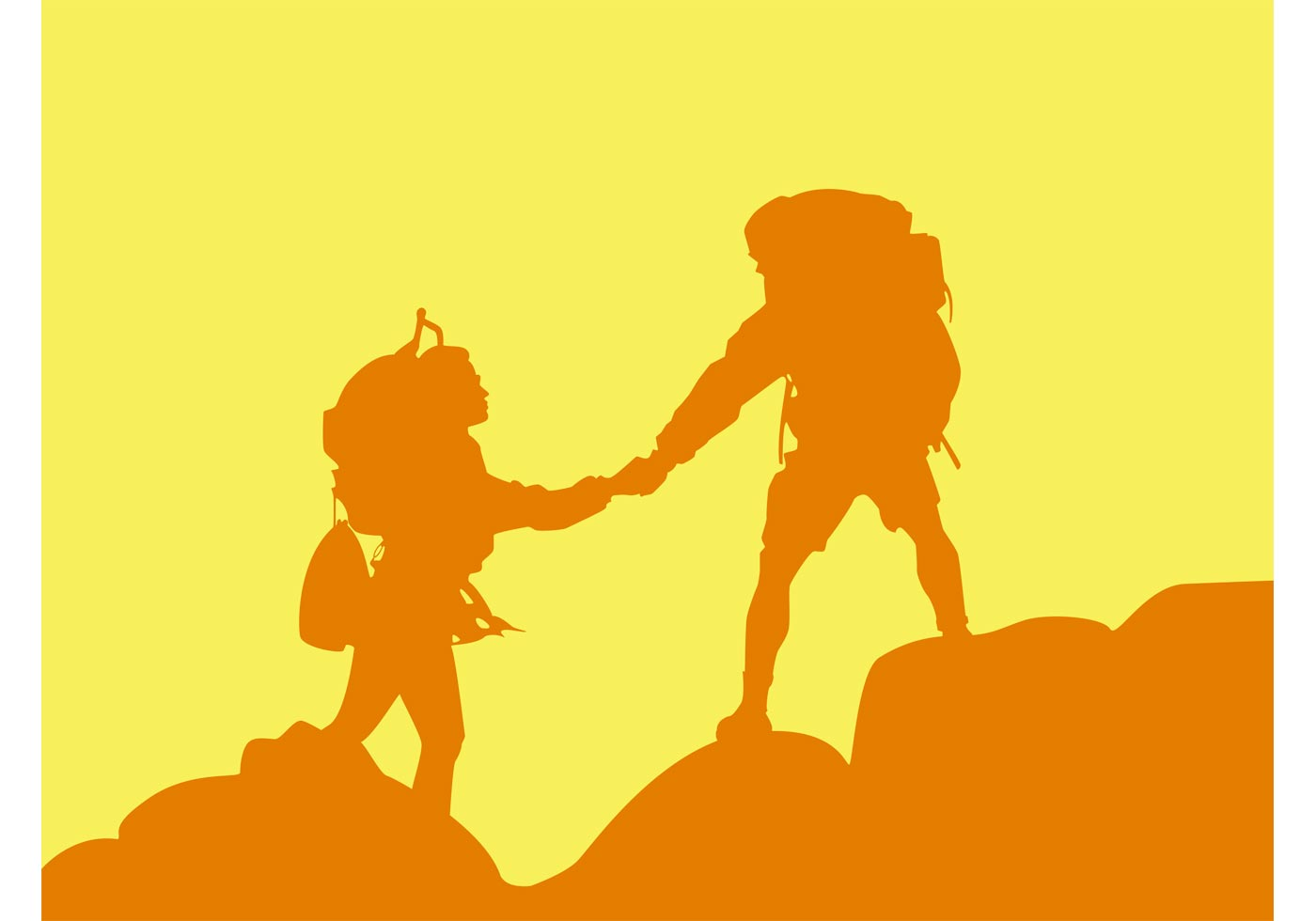 Mountain Hiking Download Free Vector Art Stock Graphics
