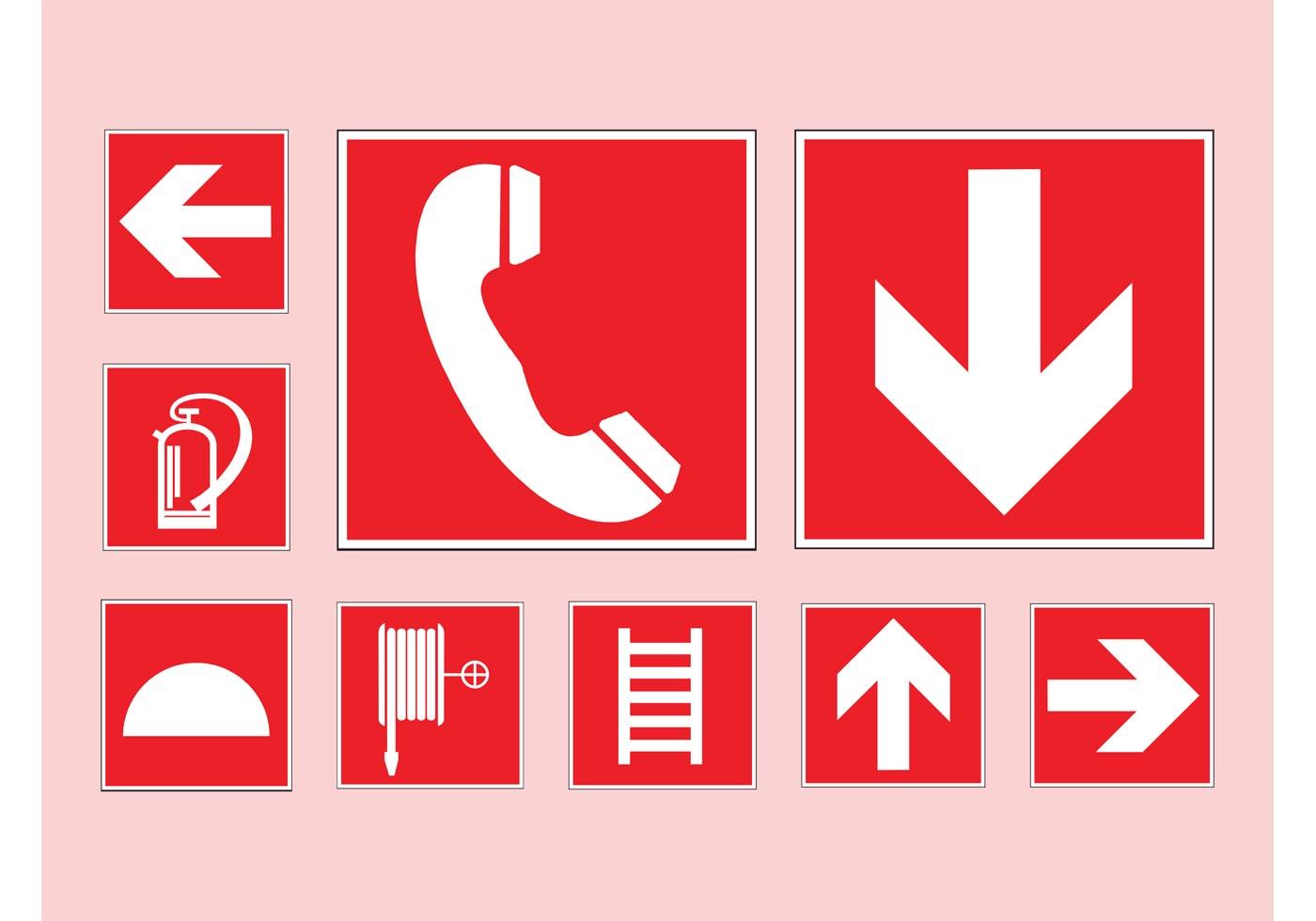 Emergency Symbols Download Free Vector Art Stock
